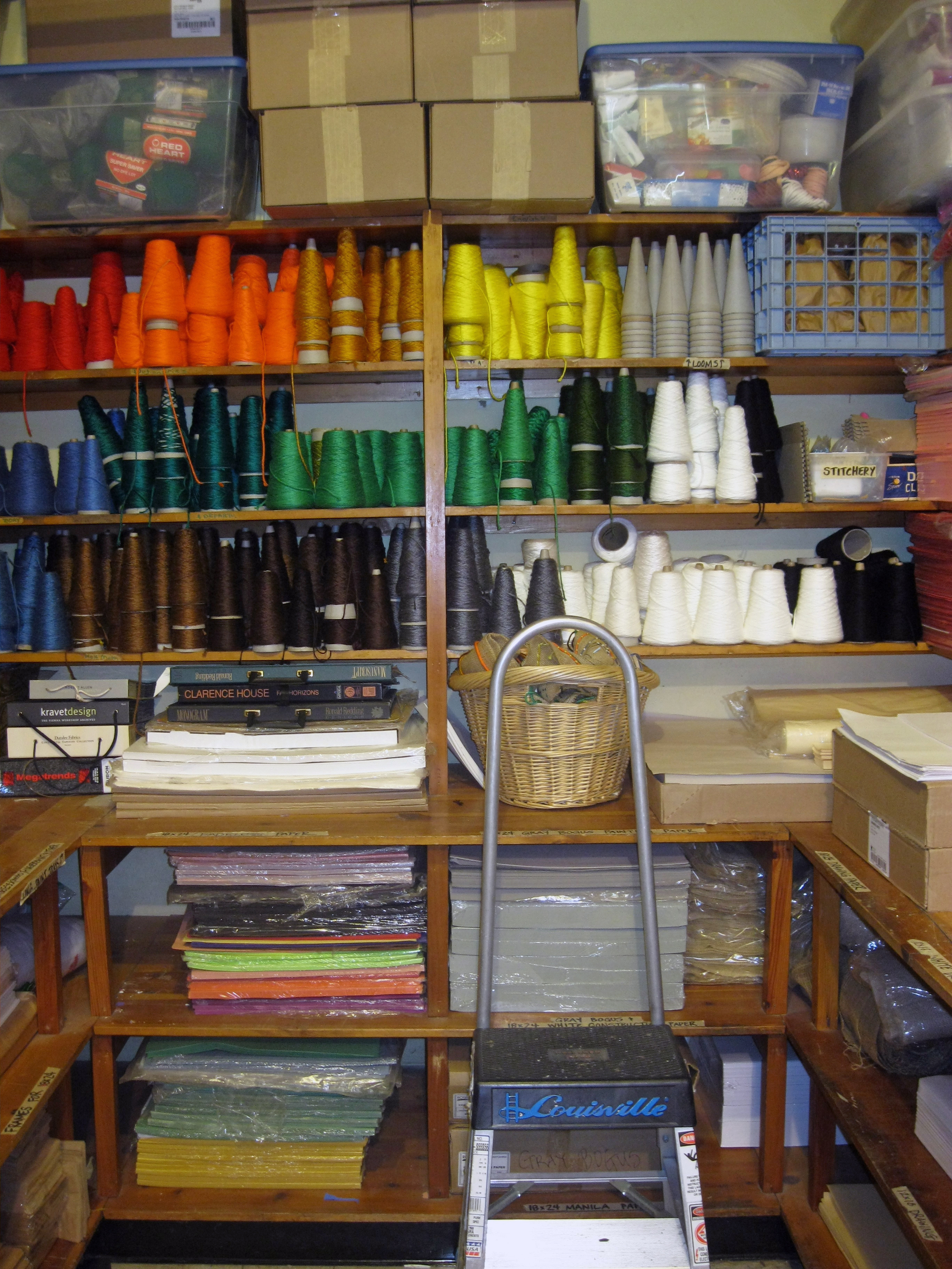 Organization Storage Room 2010 Wonderbrooks