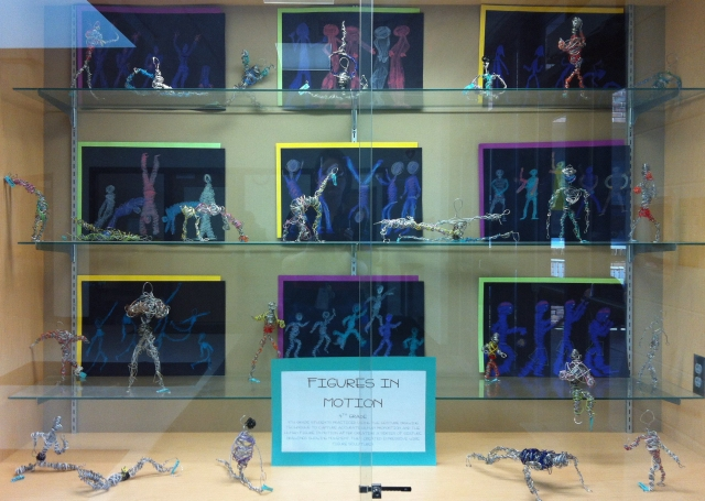 4th grade figures display case